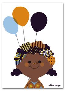 Image of Affiche {Les ballons de Lola}
