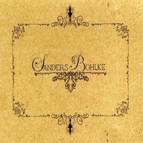 Image of Sanders Bohlke CD