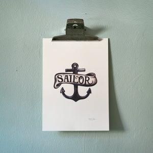 Image of Print Sailor Emblem