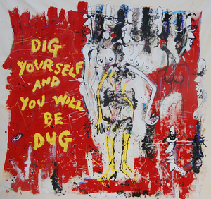 "Image of ""Dig Yourself and You Will Be Dug"" by Miles Regis"