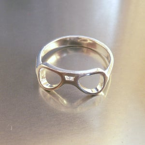 Image of Aviator Glasses Ring