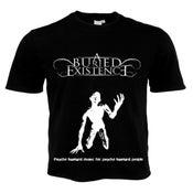"Image of NEW  T-shirt - ""Psycho bastard music for psycho bastard people"""