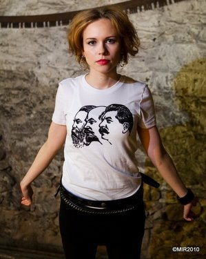Image of MIR004 THE LEADERs / VOZHDI T-Shirt (7 COLORS)