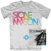 Image of StoneMason Tee + CD Bundle