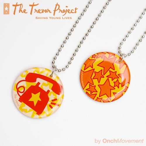 Image of Trevor Project Flip-O-Pendant