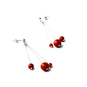 Image of Boucles d'oreilles Feux d'artifice