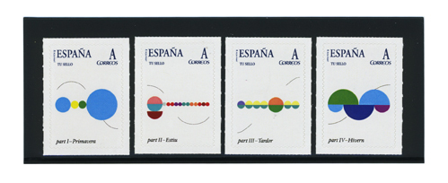 Image of Lesquatrestacions<br> — Stamp collection
