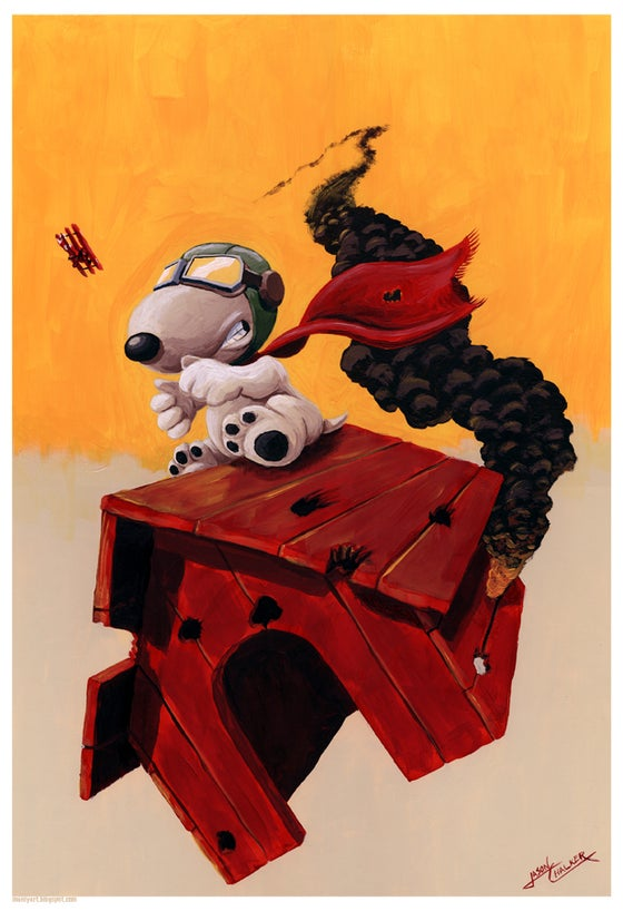 Image of Curse You Red Baron! Print