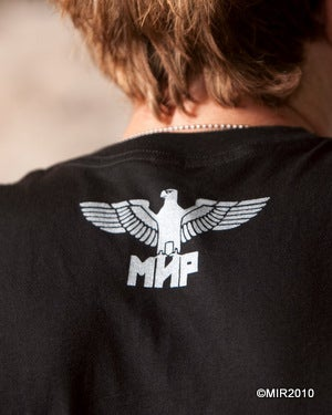 Image of MIR024 LIVE IN SIN / miniskull T-Shirt (7 COLORS)
