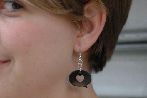 Image of Vinyl Earrings