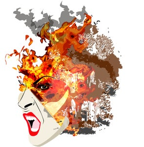 "Image of ""Fire"" - from the ""World Elements Series"""