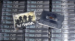 Image of DJ SEGA 'Live from West Philly 5.01.2010' Cassette Tape