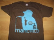 Image of Manchild Silouette T-Shirt (Brown)