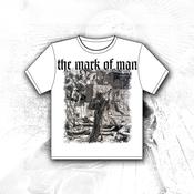 Image of 'Death As A Cut Throat' White Tee Shirt