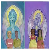 Image of  Angels to Call Our Friends PRINT Set
