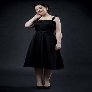 Image of 'Rocker Girl Jane' dress - Black