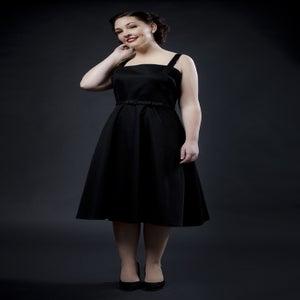 Image of 'Rocker Girl Jane' dress - Black