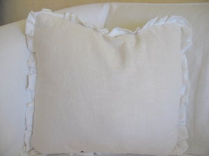 """Image of The """"Caterina"""" Ruffle Pillow"""