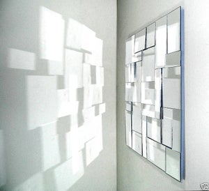 Image of ::modern geometric mirror sculpture::