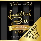Image of 83 OZ. Loretta's Best BBQ Sauce | Original