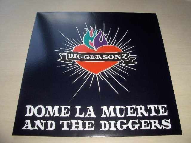 "Image of Dome La Muerte & The Diggers - ""Diggersonz"" LP"