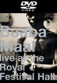 Image of Baaba Maal - Live at Royal Festival Hall (DVD)