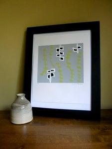 Image of Vines Silk Screen Print