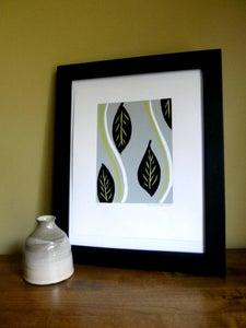 Image of Leaves - Silk Screen Print