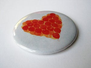 Image of Balloon Heart Pocket Mirror
