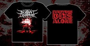 "Image of ""Everyone Dies Alone"" Album T shirt"