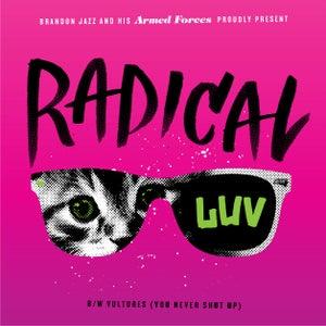 "Image of Radical Luv/Vultures 7"" (limited purple vinyl)"