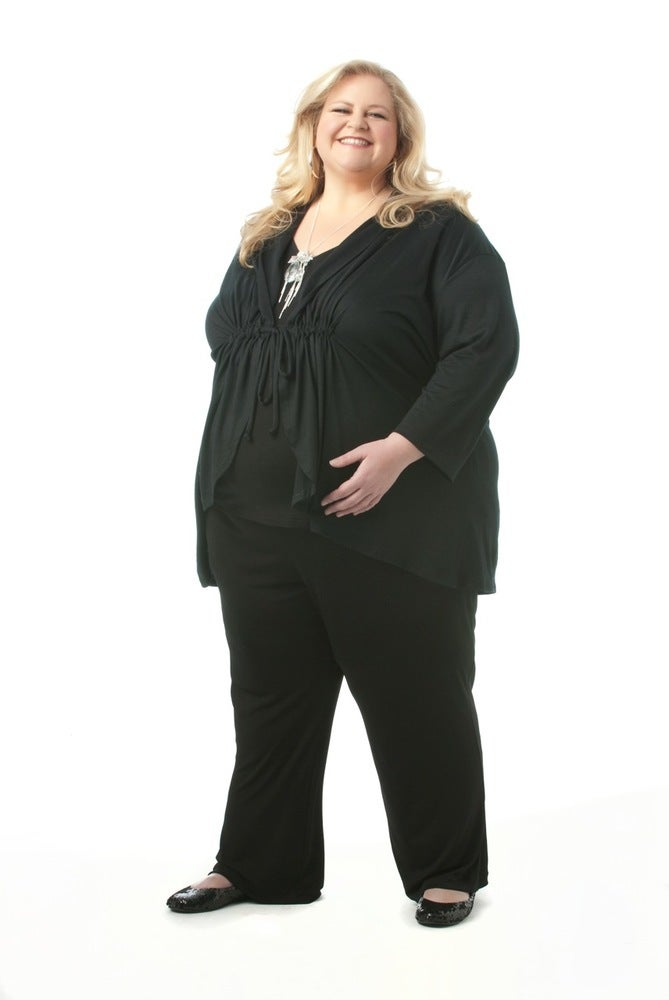 Image of Tie front top with long sleeves - 100% Merino