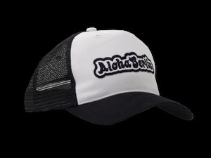 Image of Trucker Mesh Cap (black-white)