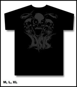 "Image of T-Shirt ""Evil Skull"""
