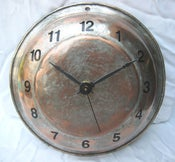 Image of Copper pan clock