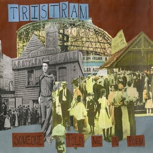 """Image of Tristram - """"Someone Told Me A Poem"""" EP limited edition digipack (300 copies only!)"""