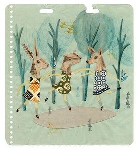 Image of Woodland Dancers print