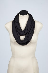 "Image of The ""Original"" Black Loop Circle Scarf (Priority Shipping 2-3 days)"