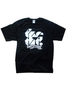 Image of tketht! Black logo t-shirt