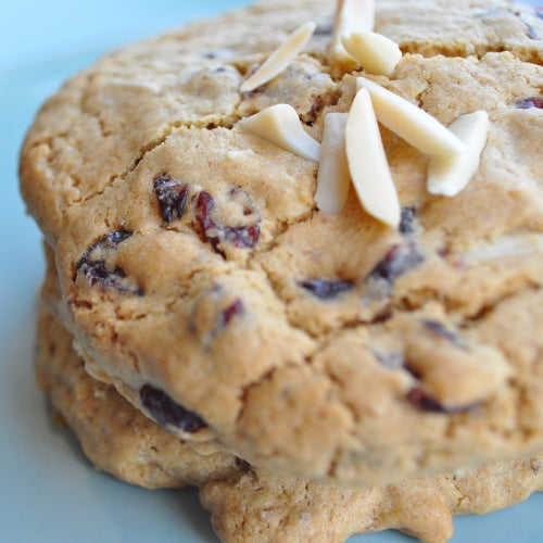 Image of gluten-free* cranberry almond cookie