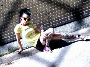 Image of Photobooth-Yellow(womens)