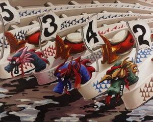 Image of Dragon Boats 8 x 10 Photographic Print