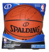 Image of Official NBA Spalding basketball AUTOGRAPHED by Gilbert Arenas