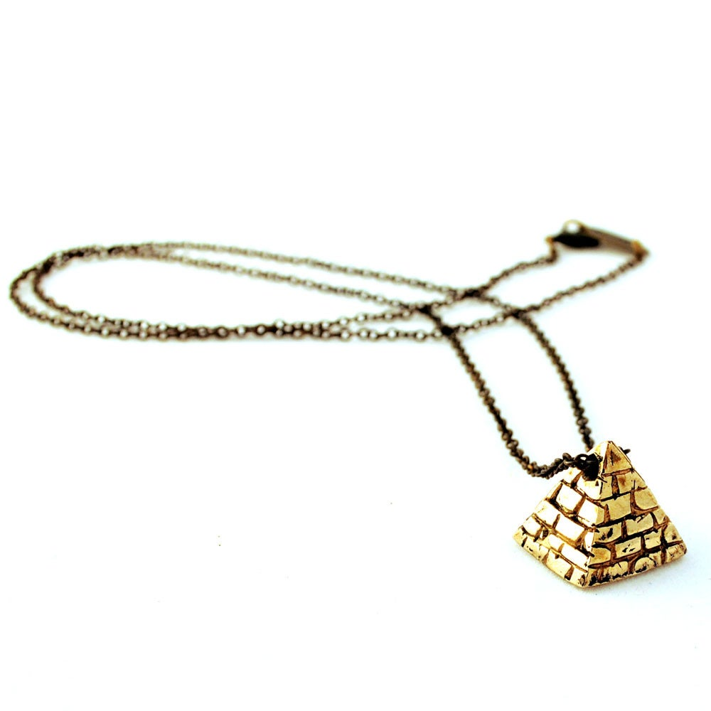 Image of Small Pyramid Necklace