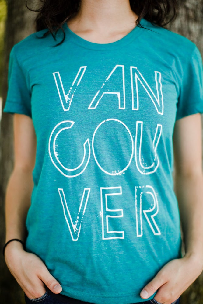 Image of Vancouver, we love you T-shirt (Evergreen)