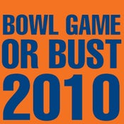 Image of BOWL GAME OR BUST 2010! #PinstripeBowl