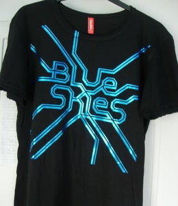 Image of Shiny Blue Skies t-shirt