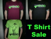Image of Anchorless T SHIRTS (Logo AND Burlesque)
