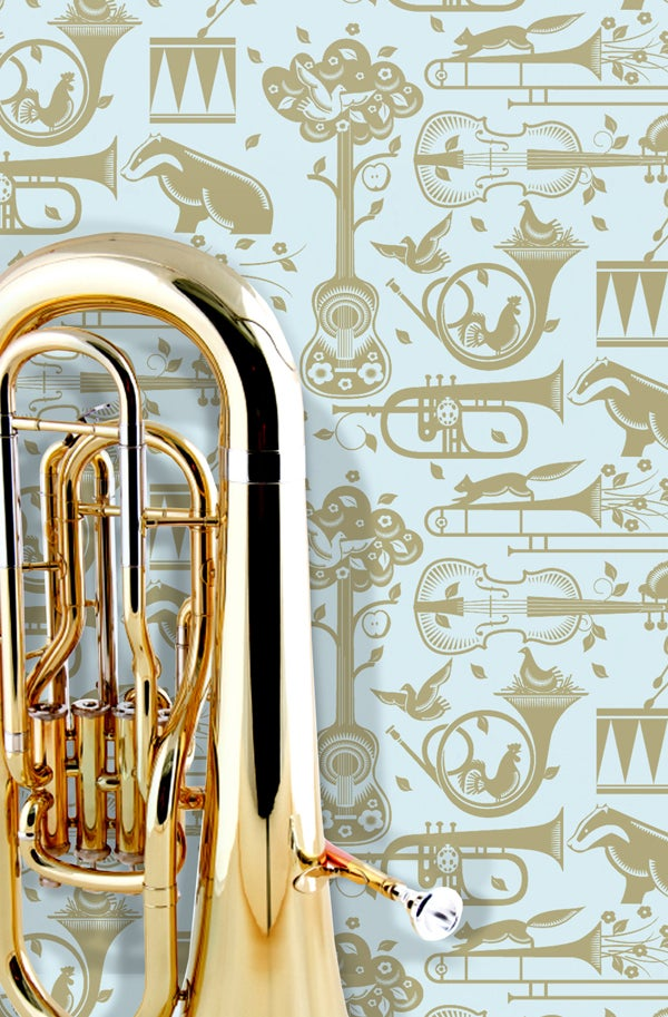 Image of Pet Sounds Wallpaper - Powder Paint Blue