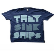 Image of THEY SINK SHIPS 'Print' Tee Shirt